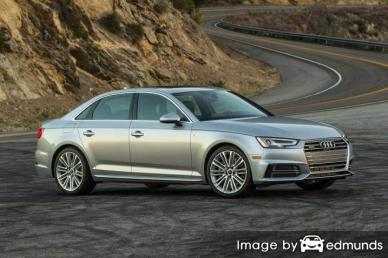 Insurance rates Audi A4 in Charlotte