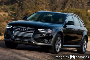 Insurance rates Audi Allroad in Charlotte
