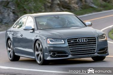 Insurance quote for Audi S8 in Charlotte