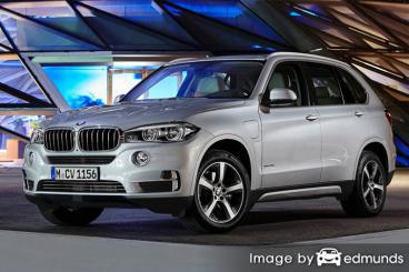 Insurance rates BMW X5 eDrive in Charlotte