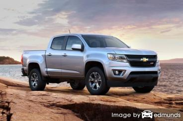 Insurance rates Chevy Colorado in Charlotte