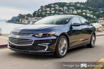 Insurance rates Chevy Malibu in Charlotte
