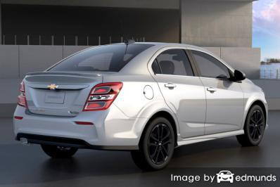Insurance quote for Chevy Sonic in Charlotte