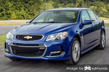 Insurance rates Chevy SS in Charlotte
