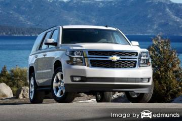 Insurance rates Chevy Tahoe in Charlotte