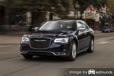 Insurance rates Chrysler 300 in Charlotte