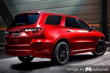 Insurance rates Dodge Durango in Charlotte