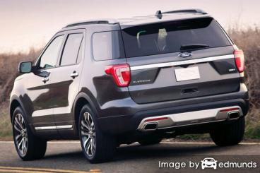 Insurance quote for Ford Explorer in Charlotte