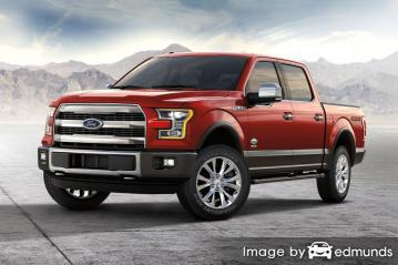 Insurance rates Ford F-150 in Charlotte