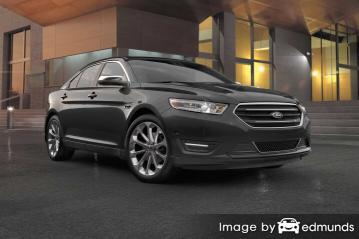 Insurance rates Ford Taurus in Charlotte