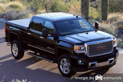 Insurance quote for GMC Sierra 2500HD in Charlotte