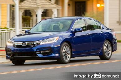 Insurance quote for Honda Accord Hybrid in Charlotte
