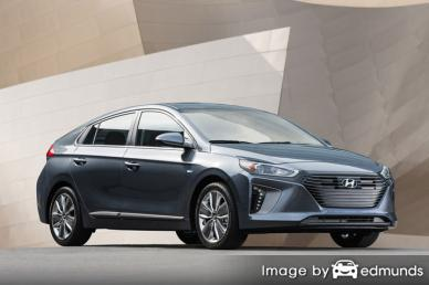 Insurance rates Hyundai Ioniq in Charlotte