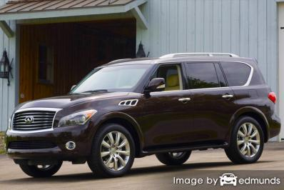 Insurance quote for Infiniti QX56 in Charlotte