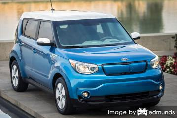 Insurance rates Kia Soul EV in Charlotte