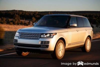 Insurance rates Land Rover Range Rover in Charlotte