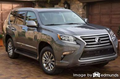 Insurance rates Lexus GX 460 in Charlotte