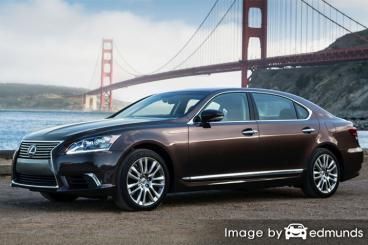 Insurance quote for Lexus LS 600h L in Charlotte