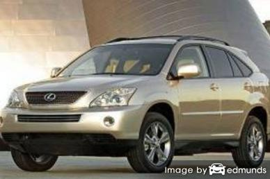 Insurance quote for Lexus RX 400h in Charlotte