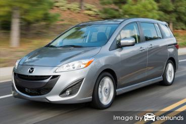 Insurance quote for Mazda 5 in Charlotte