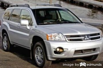 Insurance quote for Mitsubishi Endeavor in Charlotte