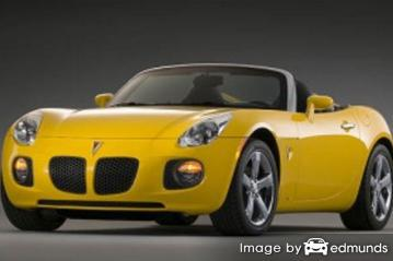 Insurance rates Pontiac Solstice in Charlotte