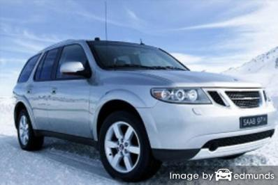 Insurance quote for Saab 9-7X in Charlotte