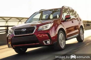 Insurance quote for Subaru Forester in Charlotte