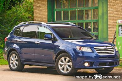 Insurance quote for Subaru Tribeca in Charlotte
