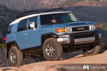 Insurance quote for Toyota FJ Cruiser in Charlotte