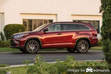 Insurance quote for Toyota Highlander in Charlotte