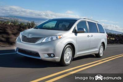 Insurance quote for Toyota Sienna in Charlotte
