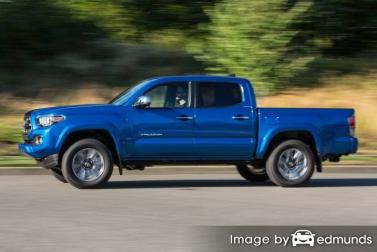 Insurance rates Toyota Tacoma in Charlotte