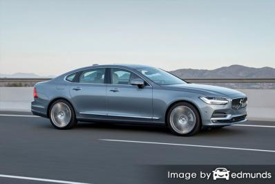 Insurance rates Volvo S90 in Charlotte